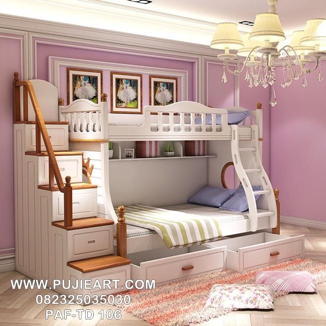 Tempat Tidur Tingkat Anak Perempuan Terbaru