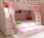 Tempat Tidur Susun Anak Perempuan
