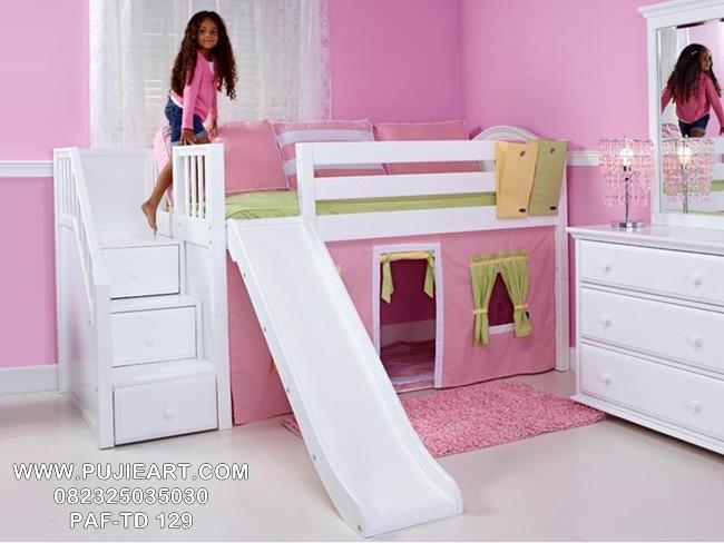 Model Tempat Tidur Anak Susun Perosotan