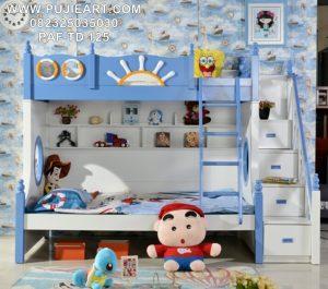 Tempat Tidur Anak Susun Karakter