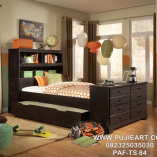 Tempat Tidur Sorong Minimalis Multifungsi