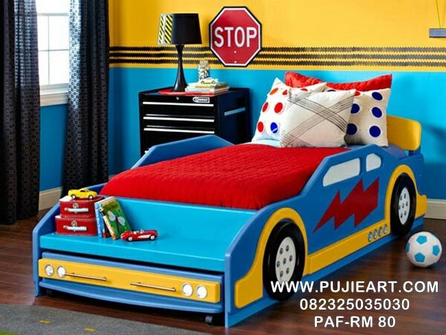 Model Tempat Tidur Karakter Anak
