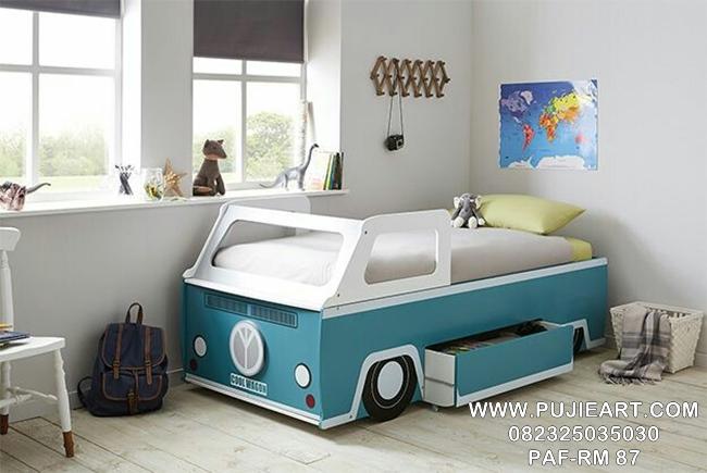 Desain Tempat Tidur Karakter Cars