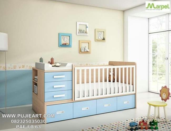 Harga Tempat Tidur Bayi Berlaci