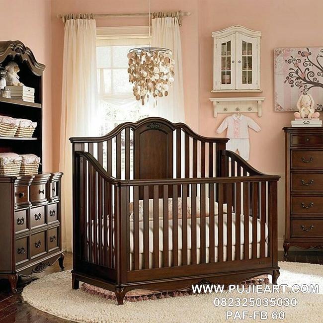 Harga Tempat Tidur Bayi Kayu
