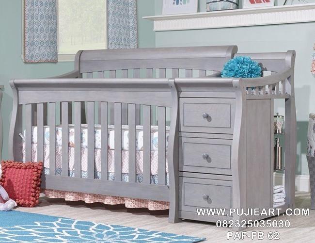 Jual Tempat Tidur Bayi Berlaci