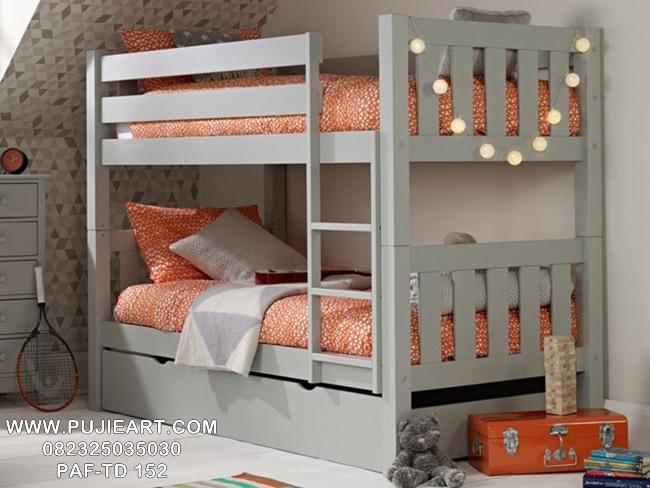 Tempat Tidur Anak Tingkat 2 Minimalis PAF-TD 152