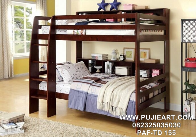 Tempat Tidur Anak Tingkat 2 Minimalis PAF-TD 155