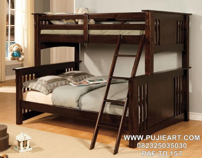 Tempat Tidur Anak Tingkat 2 Minimalis PAF-TD 157