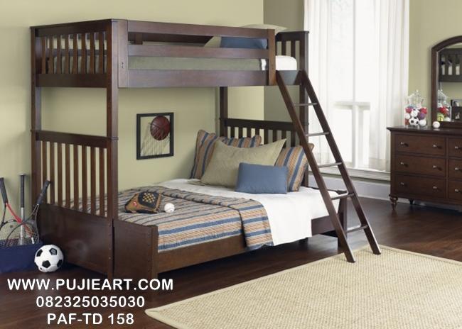 Tempat Tidur Anak Tingkat 2 Minimalis PAF-TD 158
