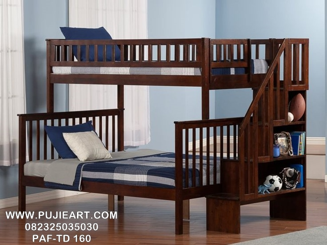 Tempat Tidur Anak Tingkat 2 Minimalis PAF-TD 160