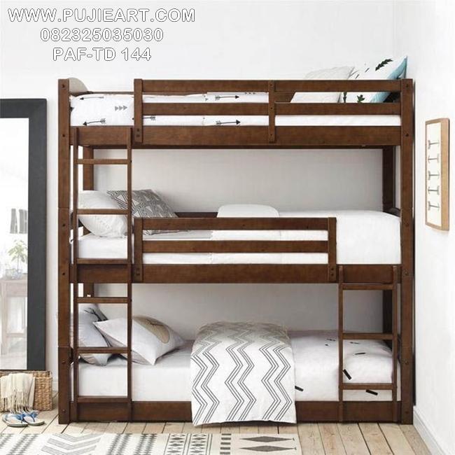 Tempat Tidur Tingkat 3 Minimalis PAF-TD 144