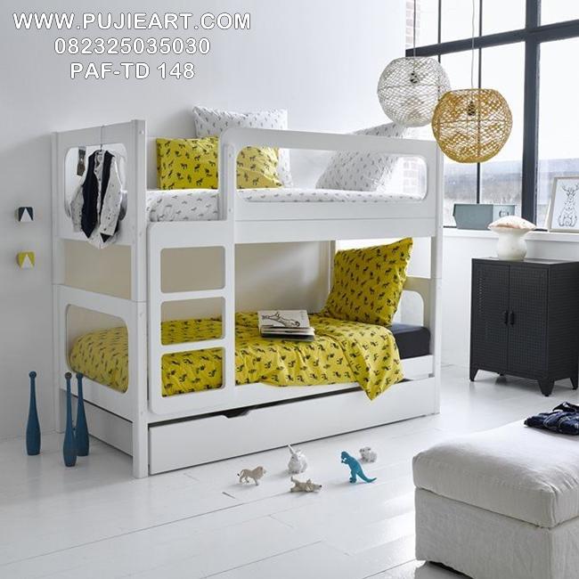 Tempat Tidur Tingkat 3 Minimalis PAF-TD 148