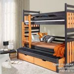 Tempat Tidur Tingkat 3 Minimalis