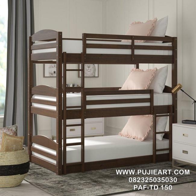 Tempat Tidur Tingkat 3 Minimalis PAF-TD 150