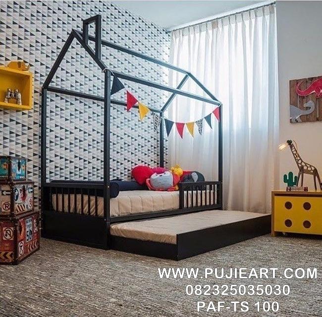Tempat Tidur Sorong Anak Karakter PAF-TS 100