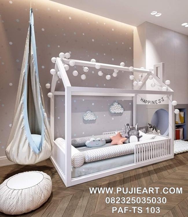 Tempat Tidur Sorong Anak Karakter PAF-TS 103