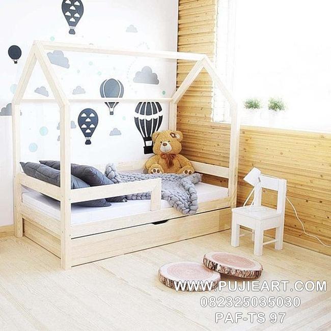 Tempat Tidur Sorong Anak Karakter PAF-TS 97