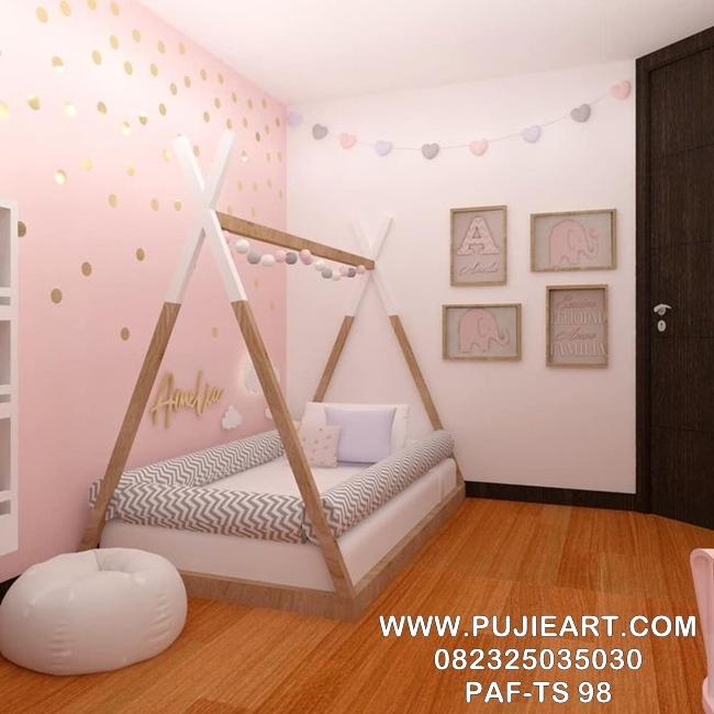 Tempat Tidur Sorong Anak Karakter PAF-TS 98