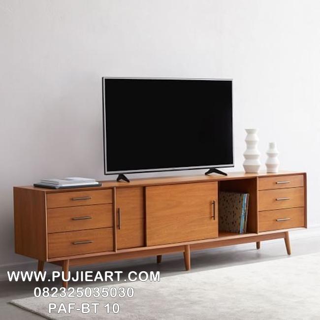 Meja Tv Retro Jati Minimalis Modern PAF-BT 10