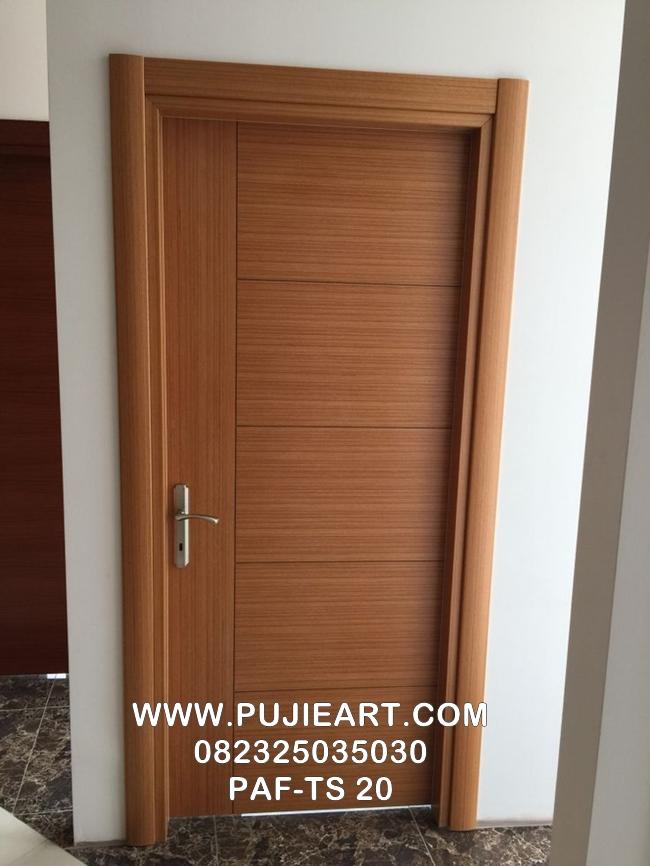 Pintu Rumah Kayu Jati Minimalis PAF-TS 20