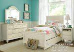 Set Kamar Anak Remaja Minimalis Putih