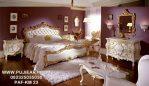Set Tempat Tidur Mewah Klasik Gold Full Jok