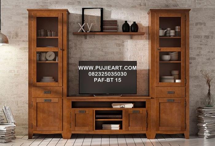 Bufet Tv Jati Minimalis PAF-BT 15