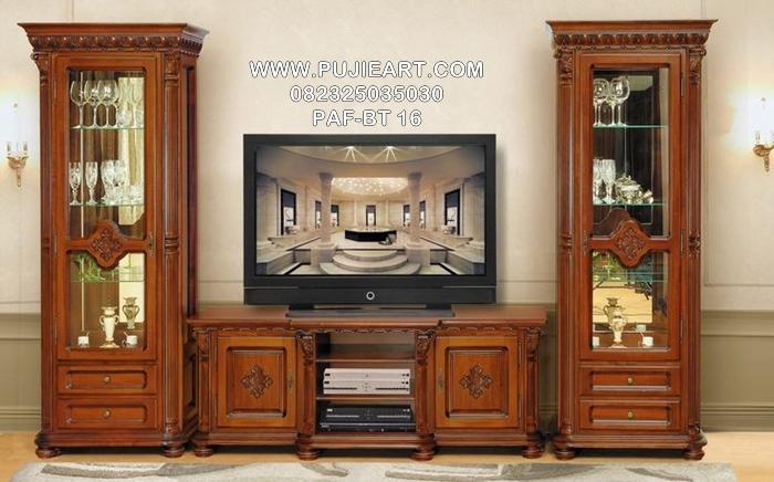 Bufet Tv Jati Minimalis PAF-BT 16