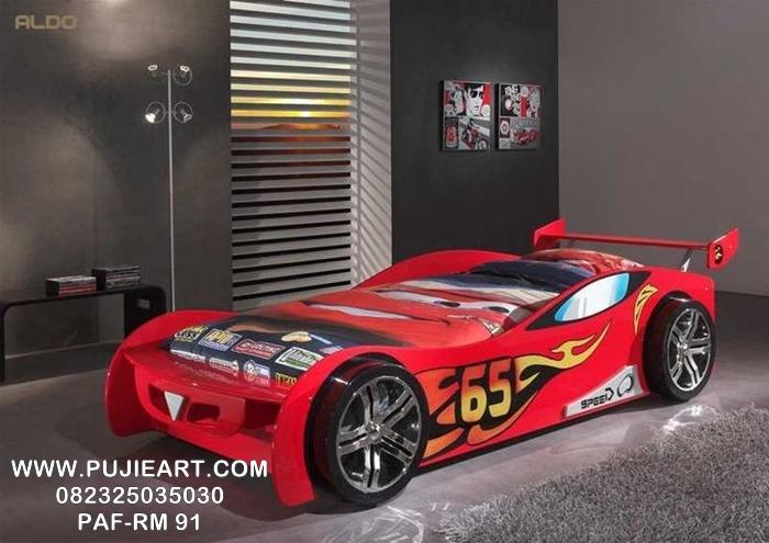 Jual Tempat Tidur Anak Karakter Mobil PAF-RM 91