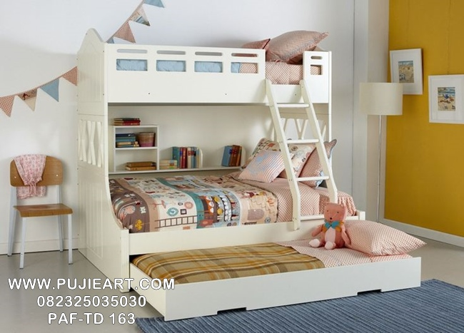 Jual Tempat Tidur Tingkat Anak Murah PAF-TD 163
