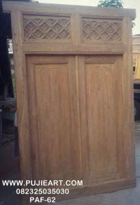 Pintu Antik Kuno Kayu Jati