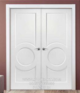 Pintu Utama Minimalis Warna Putih