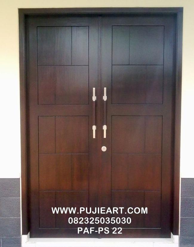Pintu Utama Minimalis Warna Putih PAF-PS 22