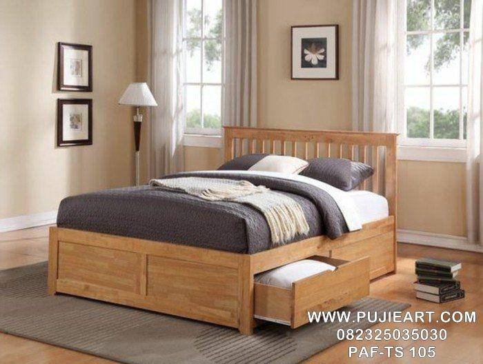Tempat Tidur Anak Laci Jati PAF-TS 105