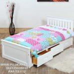 Tempat Tidur Anak Perempuan Warna Putih