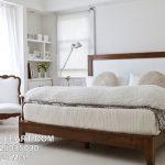 Tempat Tidur Modern Klasik Kayu Jati