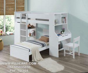 Tempat Tidur Multifungsi Hemat Ruangan