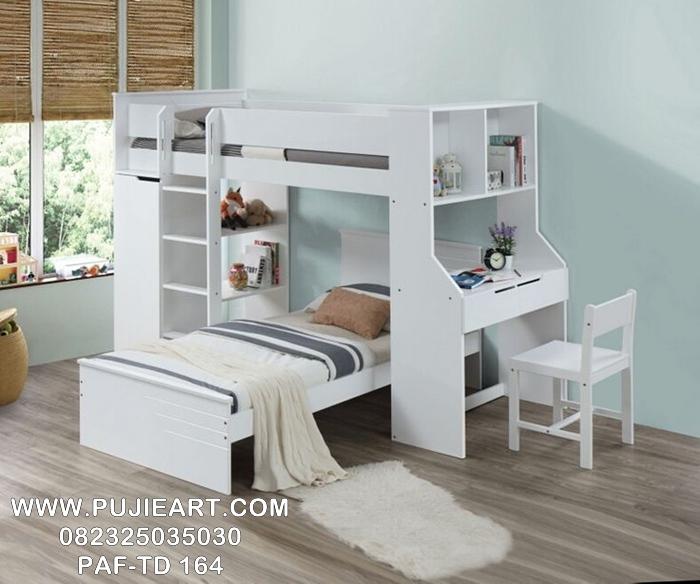 Tempat Tidur Multifungsi Hemat Ruangan, Tempat Tidur Anak Tingkat Multifungsi Hemat Ruangan