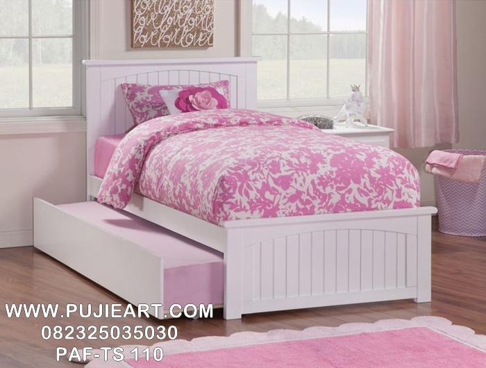 Tempat Tidur Sorong Anak Ikea Modern PAF-TS 110, Dipan Sorong Anak Ikea Modern PAF-TS 110
