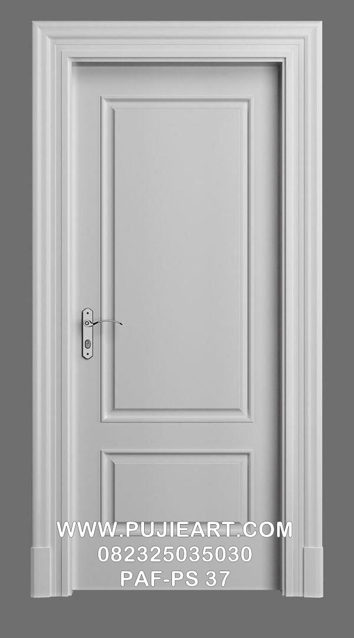 Desain Pintu Kamar Minimalis Elegan Eropa Putih