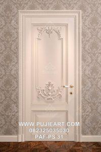 Pintu Kamar Mewah Klasik Eropa Elegan