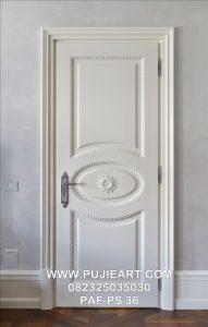 Pintu Kamar Minimalis Elegan Eropa Putih