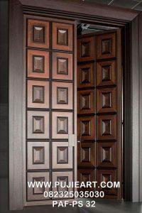 Pintu Rumah Jati Minimalis Modern