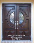 Pintu Rumah Mewah Klasik Eropa Elegan
