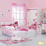 Set Tempat Tidur Anak Hello Kitty