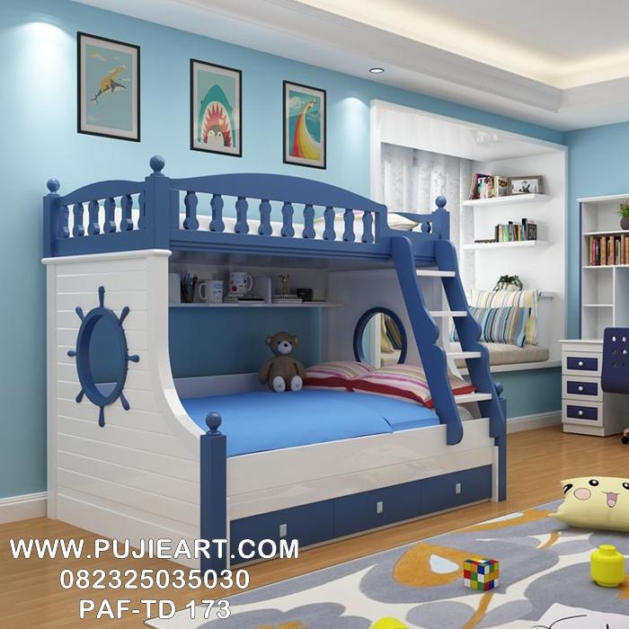 Desain Tempat Tidur Tingkat Anak Murah Modern