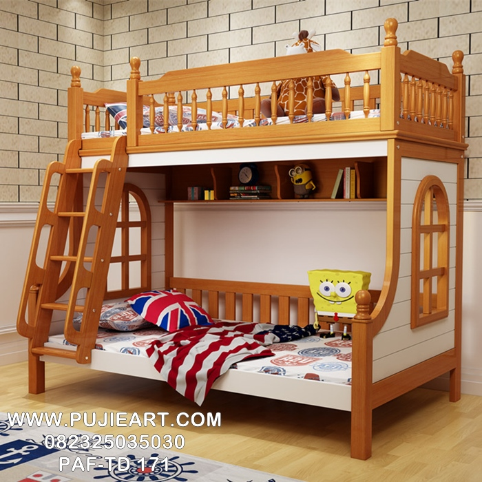 Gambar Tempat Tidur Tingkat Anak Anak Minimalis Modern