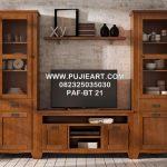 Meja Tv kayu Jati Murah Modern