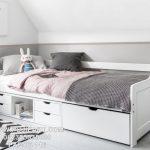 Tempat Tidur Anak Sorong Laci Modern
